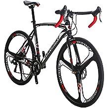 EUROBIKE Road Bike TSM550 21 Speed Dual Disc Brake 700C Wheels Road Bicycle