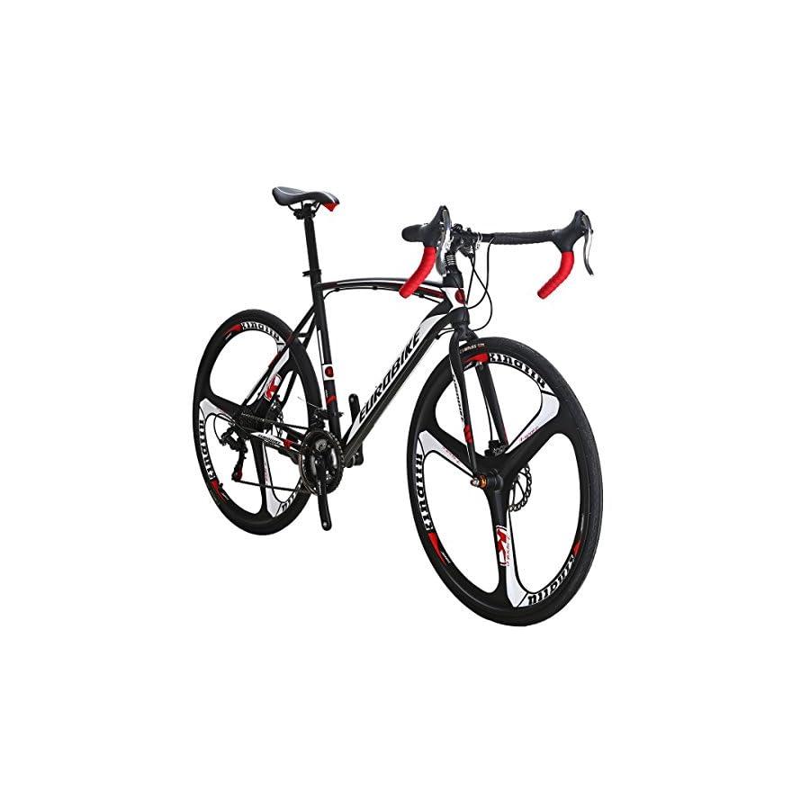 EUROBIKE Road Bike TSM550 Bike 21 Speed Dual Disc Brake 700C Wheels Road Bicycle