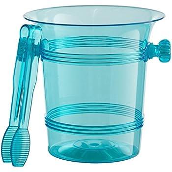 Amazon Com Exquisite 1 5 Quart Hard Plastic Ice Bucket