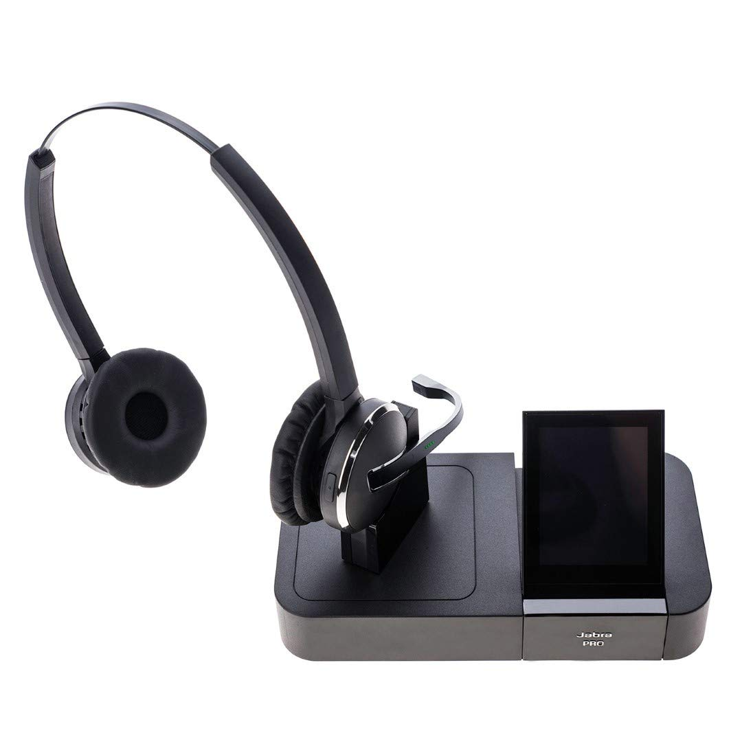 Jabra Pro 9465 Cuffie Duo Wireless DECT  Amazon.it  Elettronica 7d8aea213fe7