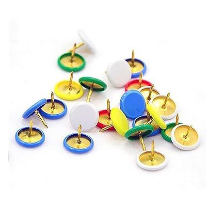 Ogquaton Pernos de empuje de color Pernos de cabeza redonda ...