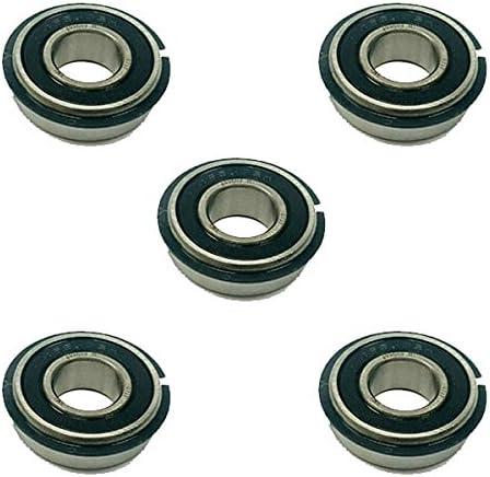 5x 499502H Snap Ring Sealed Ball Bearings 5//8 x 1-3//8