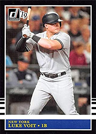 cd76aeeb1 Amazon.com: 2019 Donruss Variations #244 Luke Voit New York Yankees ...