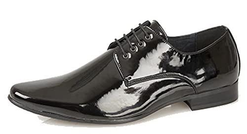 Chaussures Derby Homme Caprium, Couleur Noire, Taille 45 Eu