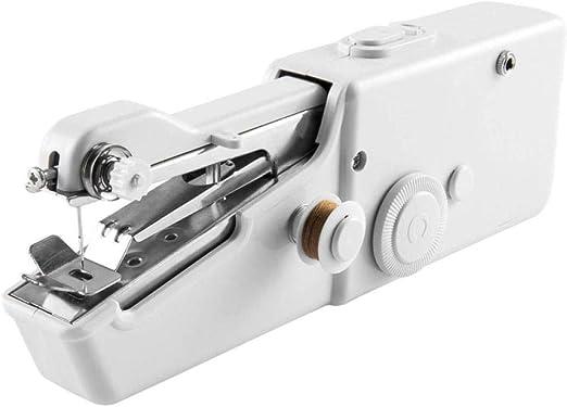 Mini máquina de coser, máquina de bordar portátil de mano para el ...