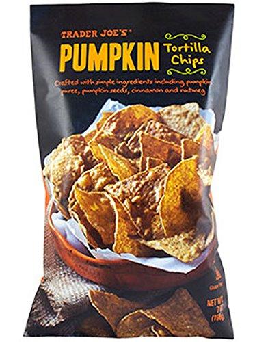 Trader Joe's Pumpkin Tortilla Chips, Gluten Free - 1 (7oz) ()