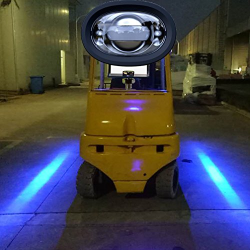 Blue Led Forklift Light in US - 5