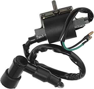 Ignition Coil 30530-102-780 with Spark Plug Cap Fits For Honda CT90 CM91 Trail 90