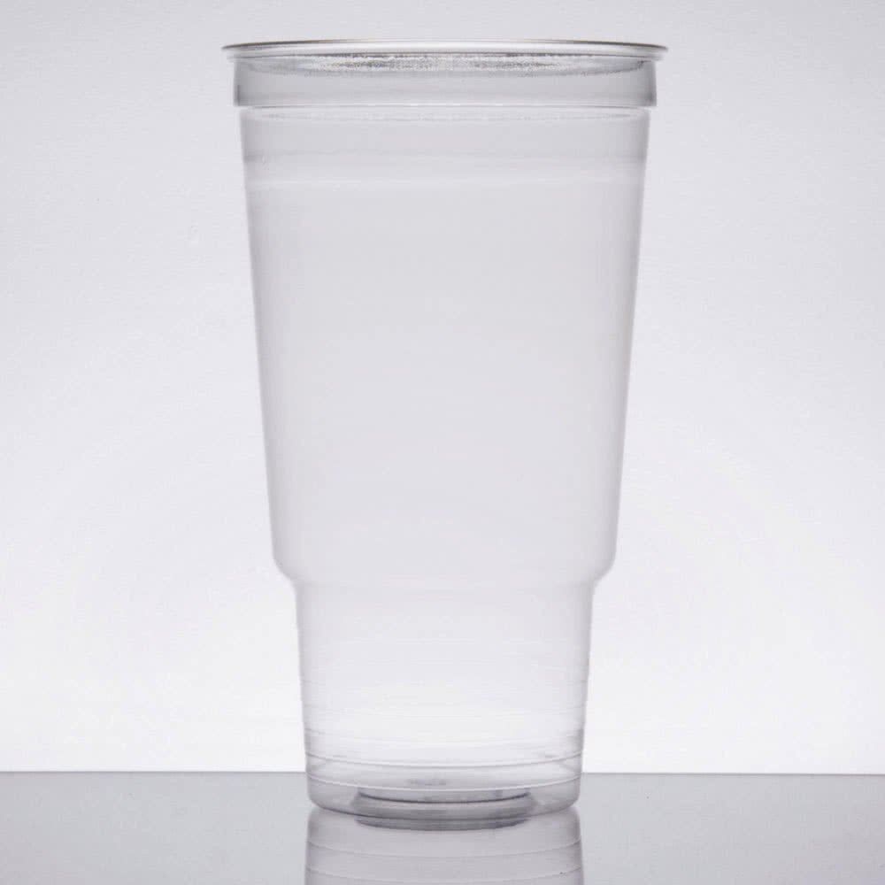 UltraClear 32AC 32 oz. Clear PET Plastic Cold Cup - 500/Case By TableTop King