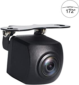 PARKVISION Car Reverse Backup Camera with Real 172 ° Horizontal Super Wide Angle,HD 1.3 Million Pixels,0 Lux Great Night Vision Visible Even at Dark Night,IP68Waterproof,Good for Suvs,RVs.[ZL-191M]