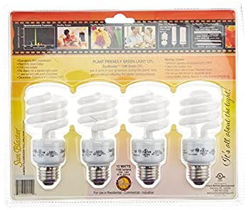 Future Harvest Development Sun Blaster Green Work Light, 13-Watt, 4-Pack