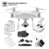 DJI Phantom 4 Pro Version 2.0 (CP.PT.00000244.01) Extra Battery Bundle For Sale