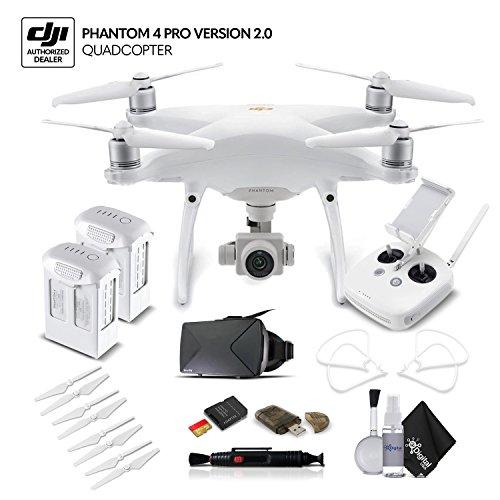 DJI Phantom 4 Pro Version 2.0 (CP.PT.00000244.01) Extra Battery Bundle