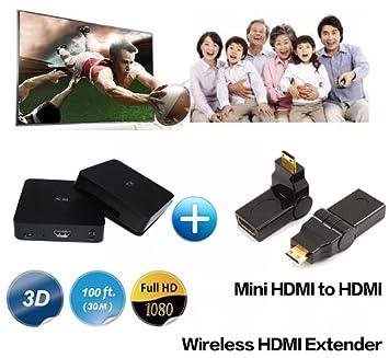 Medy W2H - Transmisor y Receptor de Vídeo HDMI inalámbrico para ...