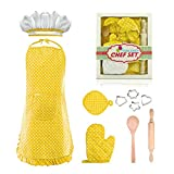 Tesoky Kids Cooking Set, 11 Pcs Birthday Gifts for
