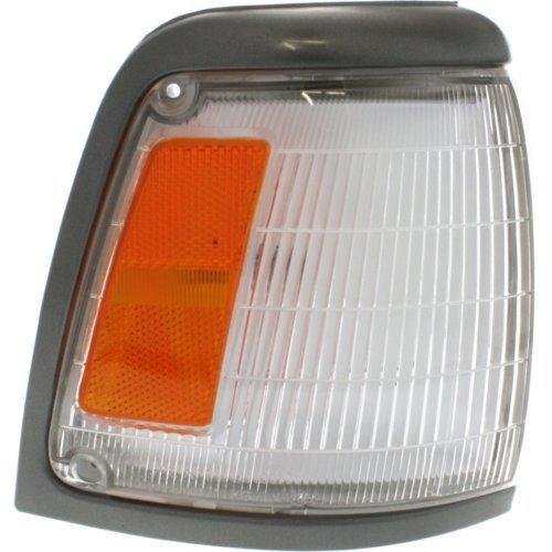 Evan-Fischer EVA20572013374 Corner Light For 92-95 Toyota Pickup 2WD w/Gray Trim Passenger Incandescent w/Bulb