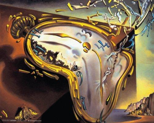 (Salvador Dali Montre Molles (Soft Watch Explosion) Surrealist Art Poster Print 16x20 by Culturenik)