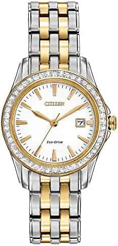 Citizen Women's Eco-Drive Silhouette Crystal watch with Date, EW1908-59A