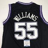 Autographed/Signed Jason Williams Sacramento