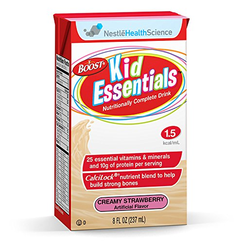 Boost Kid Essentials Supplement, Creamy Strawberry, 216 Fluid Ounce