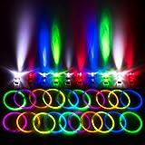 "Glow Sticks Bulk Party Favors for Kids - 140 Pc Glow Sticks Party Pack w/ 100 8"" Neon Party Glow Sticks + 40 LED Finger Lights Party Favors for Kids"