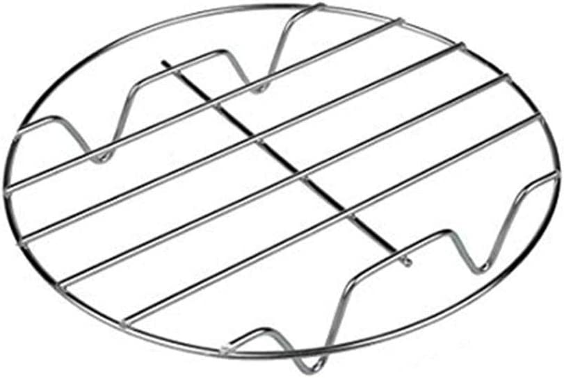 Stainless Steel Steamer Rack - 2DXuixsh Cooling Rack for Baking, Cooking, Steaming, Lifting Food in Pots Air Fryer, Pressure Cooker - 304 Stainless Steel Rack and Baking Rack for Oven Use