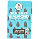 Taza Chocolate | Amaze Bar | Sea Salt & Almond | 80% Stone Ground | Certified Organic | Non-GMO | 2.5 Ounce (1 Count)