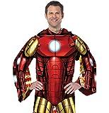 Marvel Iron Man Comfy Throw Superhero Blanket with Sleeves
