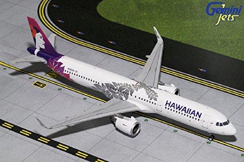 Gemini200 Hawaiian Airlines A321neo N202ha 1 200 Scale Diecast Model Airplane