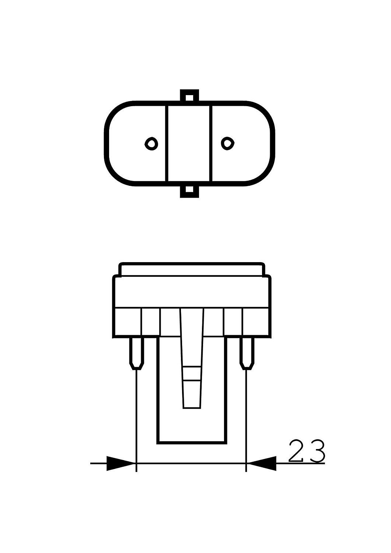 10x PHILIPS MASTER PL-S Energiesparlampe G23-2 PIN 7W//840 2Pin G23 - Neutralwei/ß