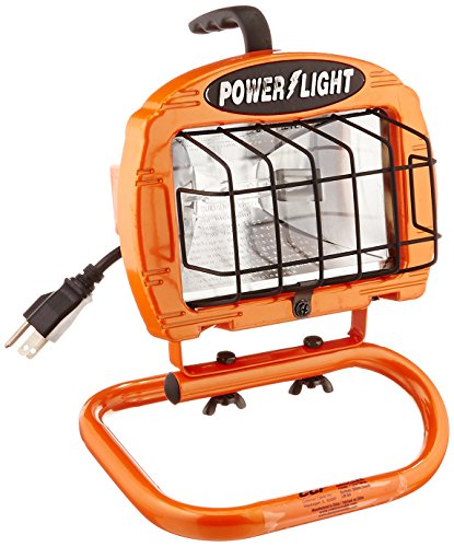 Craftsman 500 Watt Halogen Worklight: Designers Edge L-2004 65-Watt Fluorescent Portable