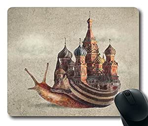 """The Snail's Daydream Durable Rubber Customized Mousepad Rectangle Mouse Pad 220mm*180mm*3mm (9""""*7"""") -WS82141"""