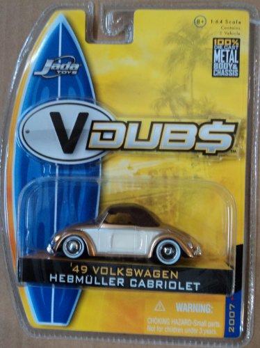 Jada Toys V Dubs 49 Volkswagen Hebmuller Cabriolet 2007 1...