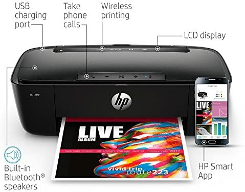 HP AMP 100 Impresora Todo en uno de inyección de Tinta con Altavoz ...
