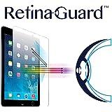 RetinaGuard Anti-UV, Anti-blue Light Tempered Glass Screen protector for iPad mini/iPad mini 2/iPad mini 3 - SGS & Intertek Tested - Blocks Excessive Harmful Blue Light, Reduce Eye Fatigue and Eye Strain