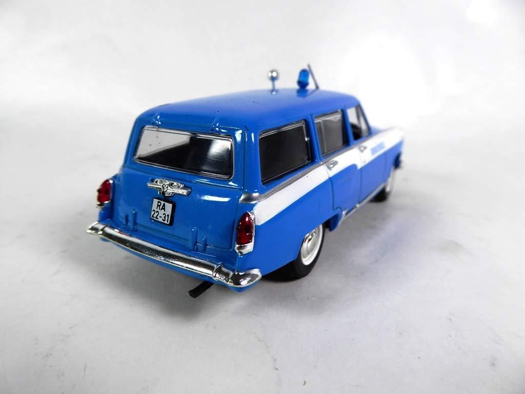 GAZ-M-22 Volga 1//43 Weltpolizeiauto-Sammlung Hong PM25 OPO 10