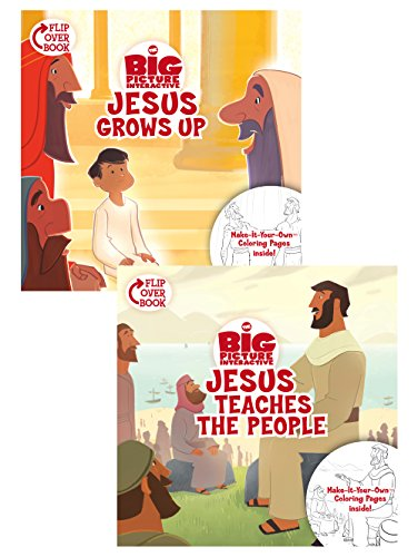 Jesus Grows Up/Jesus Teaches the People Flip-Over Book (The Big Picture Interactive / The Gospel Project)