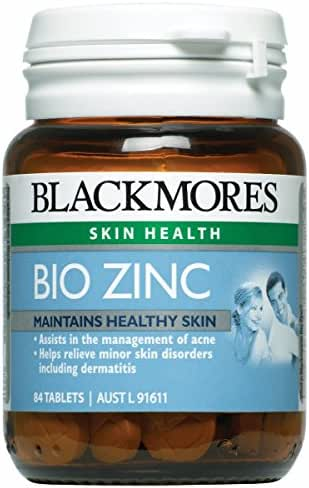 Blackmores Bio Zinc 90 Tablets. [Free for You Beauty Gift]