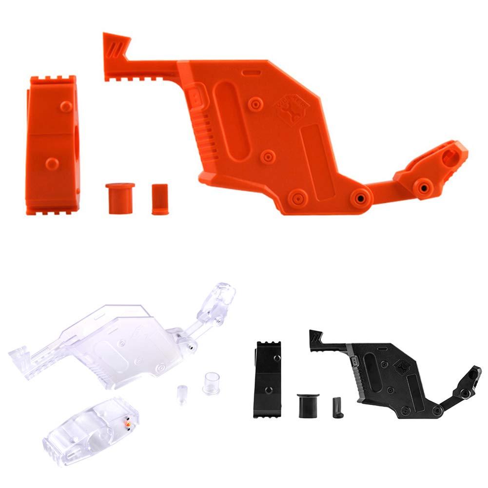 MAJGLGE Worker Mod Kits Kits Kits für Nerf Stryfe Spielzeug Ersatzzubehör Kinder Geschenk – Transparent Orange d6fe7b