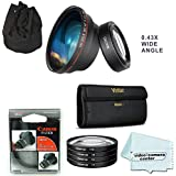 58MM Professional Lens Filter And Wide Angle Lens For CANON Rebel (T6i T6 T5i T4i T3i T2i T1i XTi XSi),CANON EOS (750D 650D 600D 550D 500D 450D 400D 300D 7D 60D (Included Genuine 58mm UV CANON Filter)