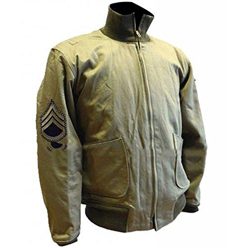 Military Jacket Fury Genius WW2 Wardaddy Pitt Cotton Brad e ERqU18