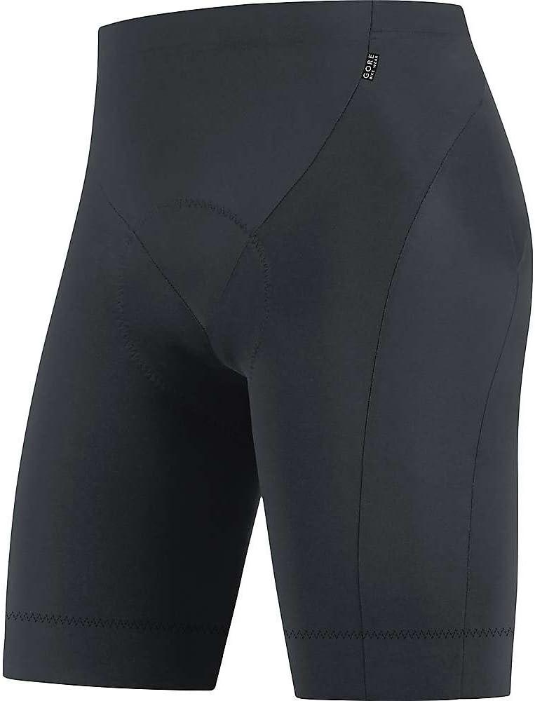 GORE BIKE WEAR Homme Cuissard de Cyclisme avec Insert Peau de Chamois Respirant Noir GORE Selected Fabrics Tights short+ TELEMT990004 Taille M