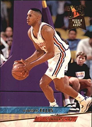 Amazon Com 1993 Ultra Basketball Rookie Card 1993 94 267 Harold Ellis Collectibles Fine Art