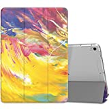 MoKo Case Fit iPad Pro 10.5 2017 - Slim Lightweight Smart Shell Stand Cover with Translucent Frosted Back Protector Fit Apple iPad Pro 10.5 Inch 2017 Released - Painted Sky (Auto Wake Sleep)