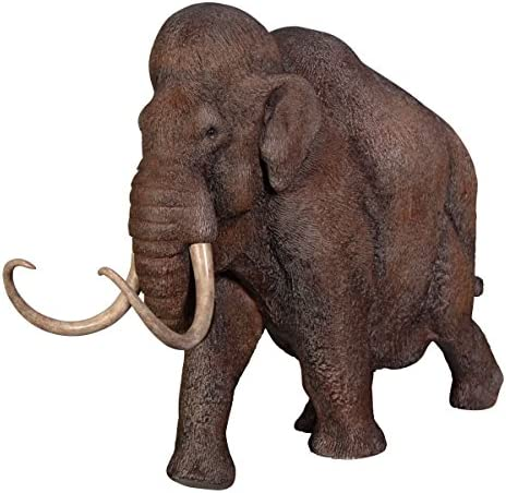 Design Toscano Woolly Mammoth Elephant of The Ice Age Scaled Statue