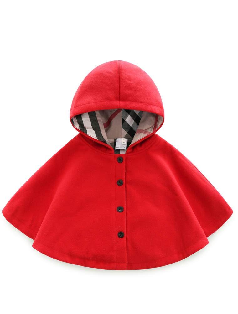 ARAUS Giacca del Mantello Cappotti Invernali da Neonata Vestiti Caldi Pesanti Bimba 0-8 Anni 7260P10