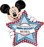 Anagram International 2636401 Mickey Mouse Birthday Balloon Pack, 30