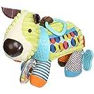 Skip Hop Bandana Buddies Soft Activity Toy, Puppy