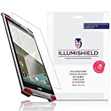 iLLumiShield - Acer Predator 8 Screen Protector with Lifetime Replacement Warranty - Ultra Clear HD Film with Anti-Bubble and Anti-Fingerprint - High Quality Invisible LCD Shield - [2-Pack]
