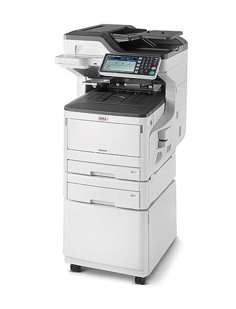 OKI MC873dnct LED 35 ppm 1200 x 600 dpi A3 - Impresora multifunción (LED, Impresión a Color, 1200 x 600 dpi, 300 Hojas, A3, Negro, Blanco)